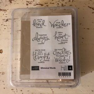 Stampin' Up Whimsical Words Stamp Set